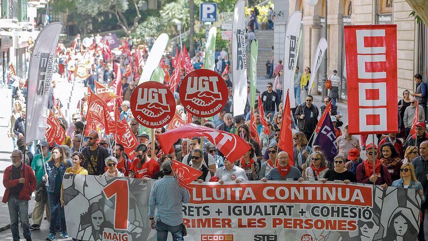 Erster Mai - Was machen die Gewerkschaften auf Mallorca?