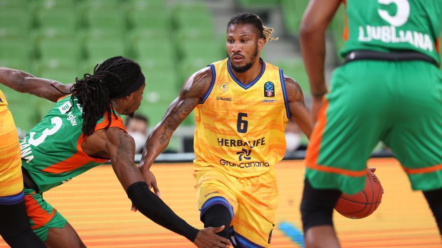 Eurocup de baloncesto - Tercera jornada: Cedevita Olimpia Liubliana - Herbalife Gran Canaria
