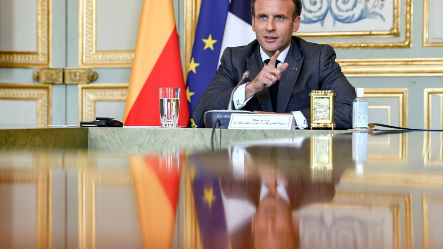 """Macron inicia su """"peregrinaje laico"""" por toda Francia"""