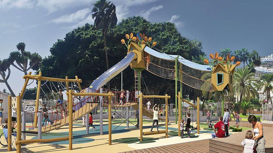 El parque de Los Laureles tendrá área infantil, zonas deportivas y graderío