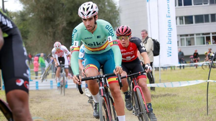Felipe Orts roza el triunfo en su primera carrera en Europa