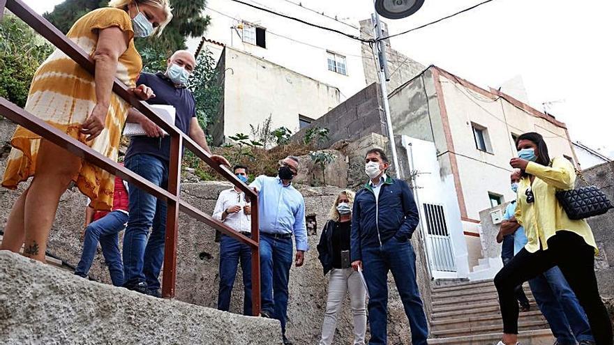 Santa Cruz ejecuta 60 obras en un año en el distrito de Anaga