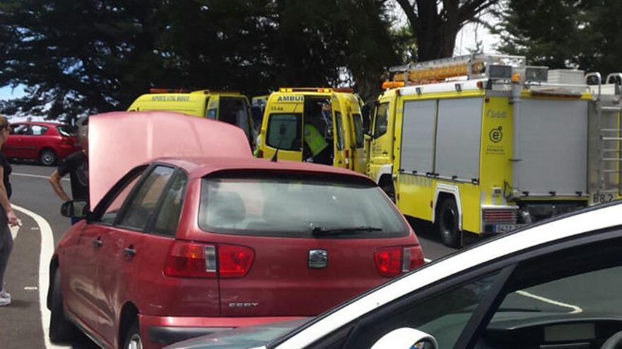 Fallece un ciclista al colisionar contra un vehículo en San Mateo