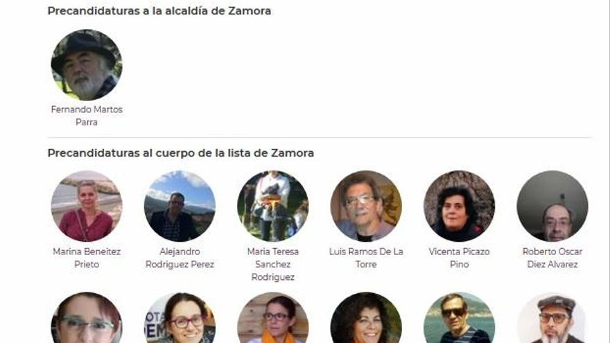 La lista de Podemos para las municipales, diseñada a falta de conocer el orden