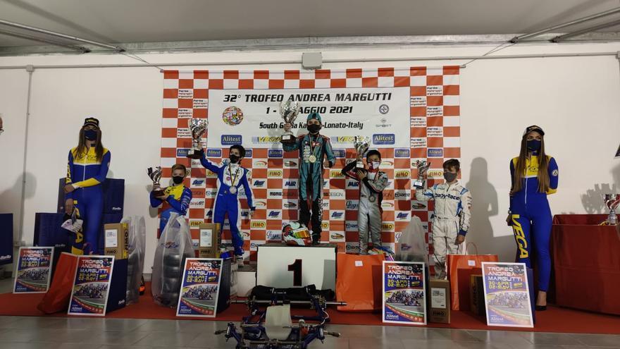Christian Costoya, tercero en el Trofeo Andrea Margutti