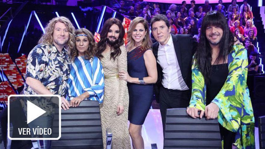 'Tu cara me suena' se suma al tirón de Eurovisión