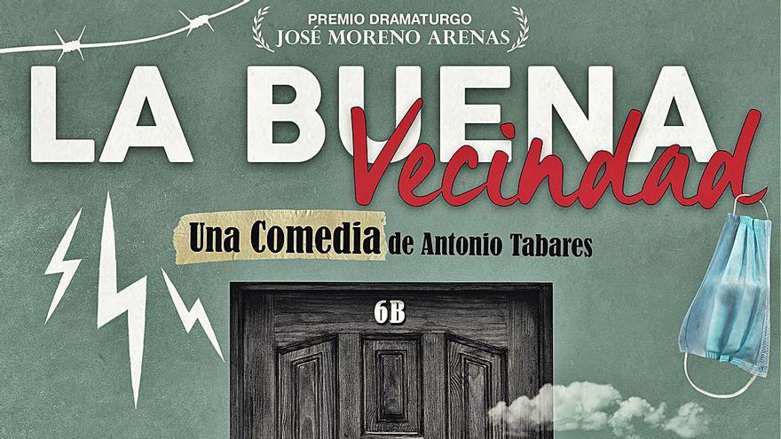 Delirium Teatro estrena 'La buena vecindad', obra de Antonio Tabares