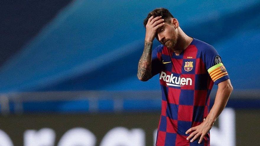 Messi se queda para no llegar a los tribunales con el Barça