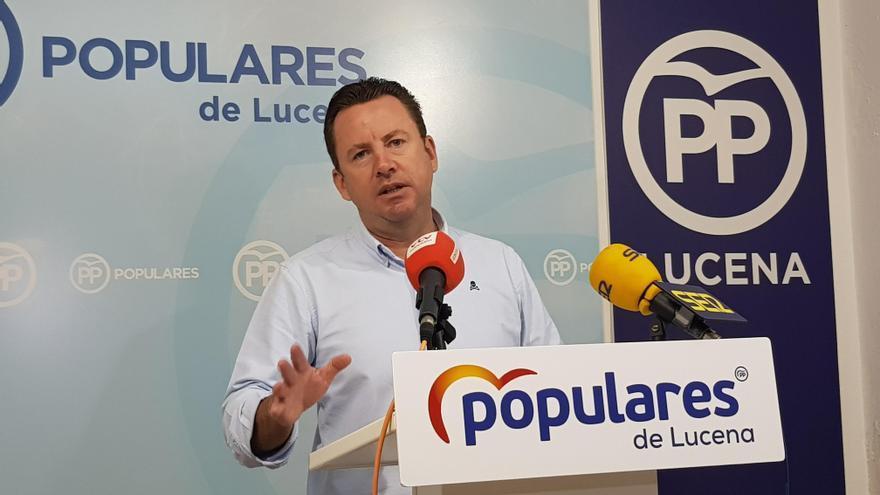 El PP rechaza al desalojo de una vivienda municipal de Lucena adquirida en subasta a Hacienda