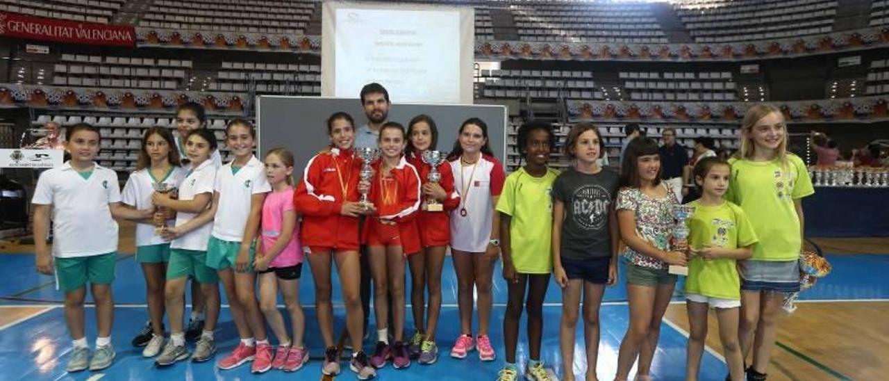 Lliurament de trofeus de los XXXVII Jocs Esportius de Castelló