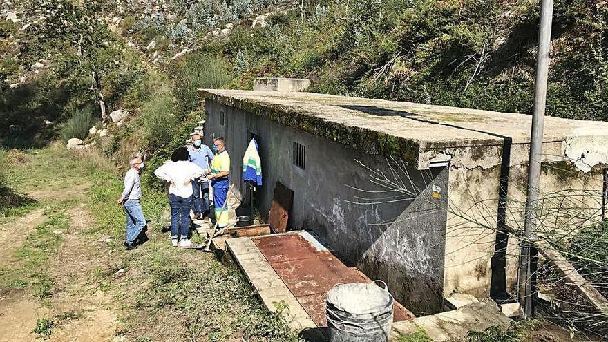 Nigrán realiza obras para regularizar las traídas vecinales de Camos y Chandebrito
