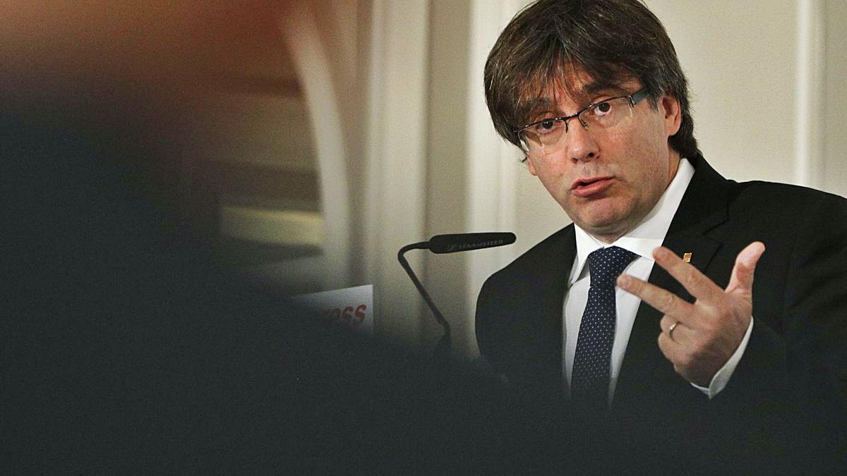 L'expresident Puigdemont hauria utilitzat el suport d'Iniciatives Events   ARXIU/EFE