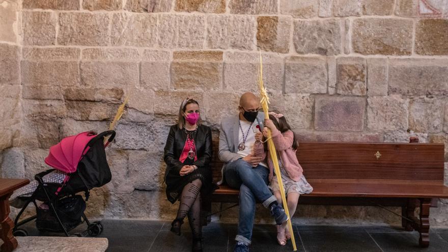 La Borriquita de Zamora sustituye la procesión por una misa