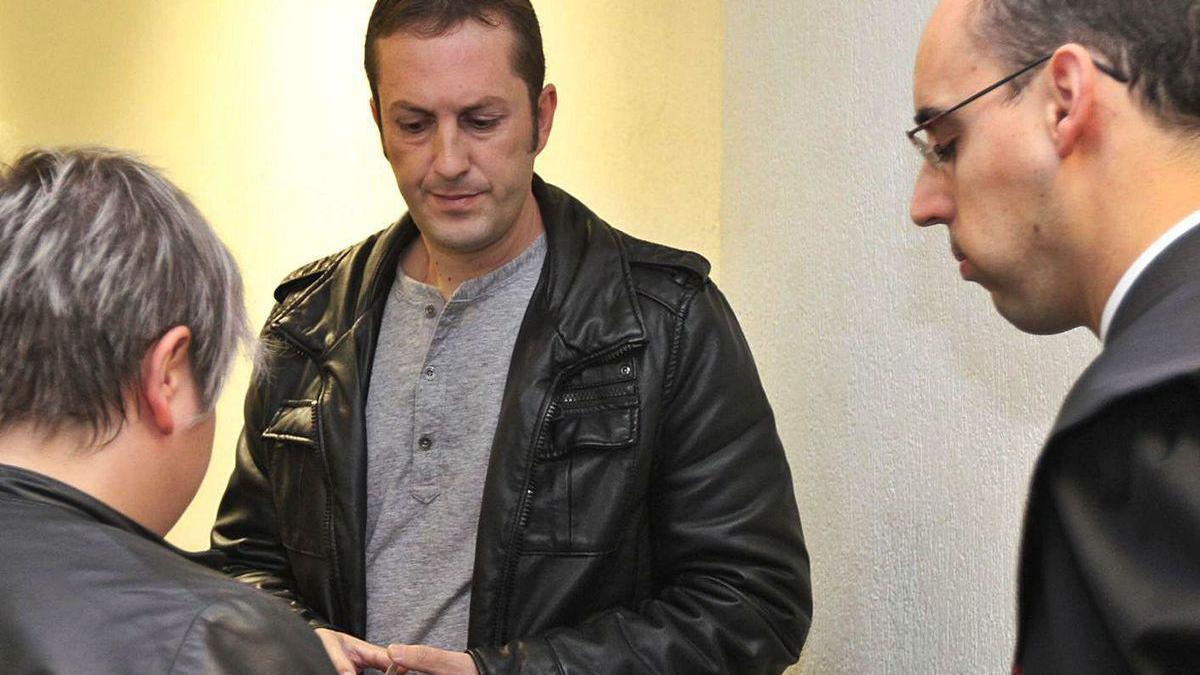 José Miguel M. C., en el juicio en 2012 por el que fue condenado por encañonar a un amigo.