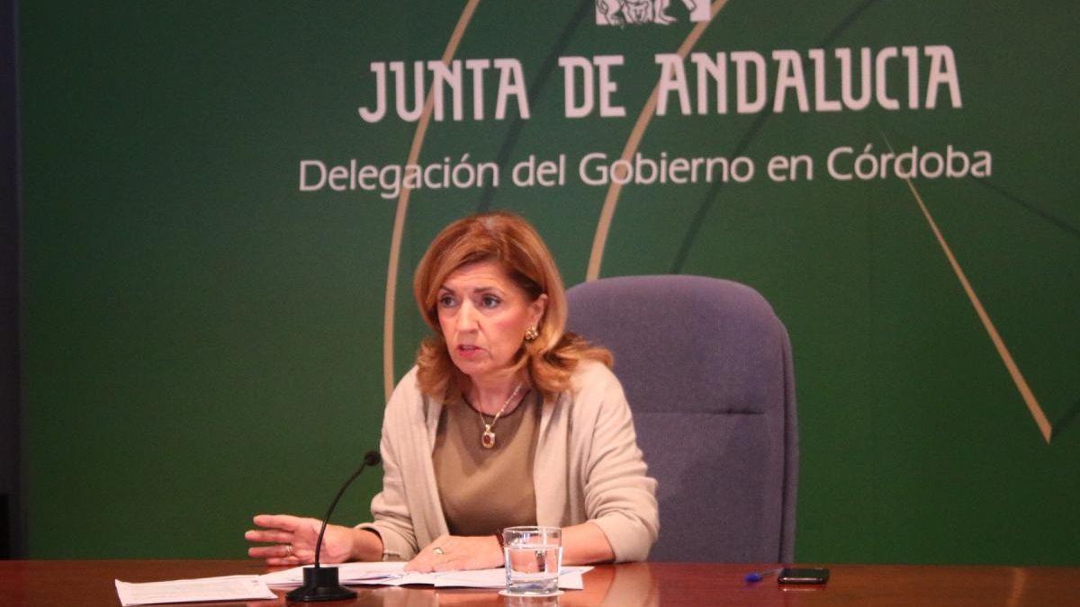 María Jesús Botella, delegada de Salud y Familias en Córdoba.