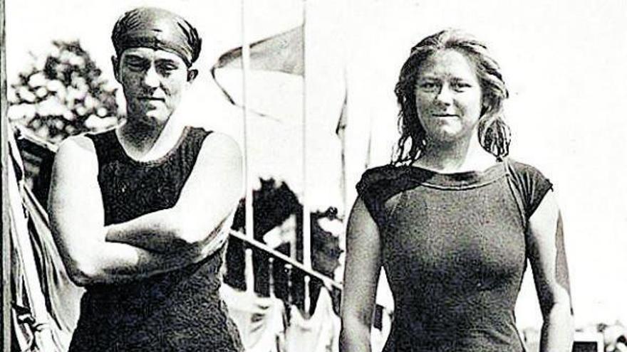 Nadadoras a contracorriente