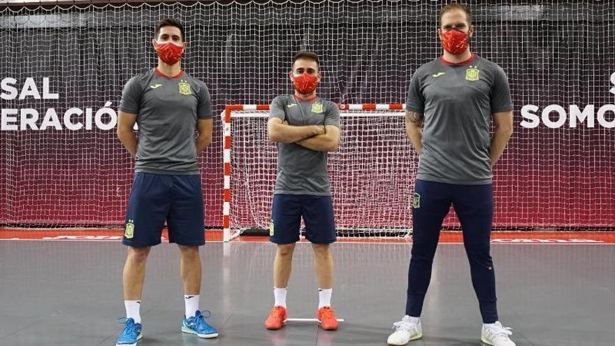 Triplete cordobés con España en Eslovenia