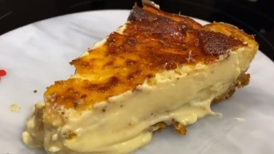 Cómo hacer paso a paso la tarta de queso de Cristina Pedroche que triunfa en Instagram