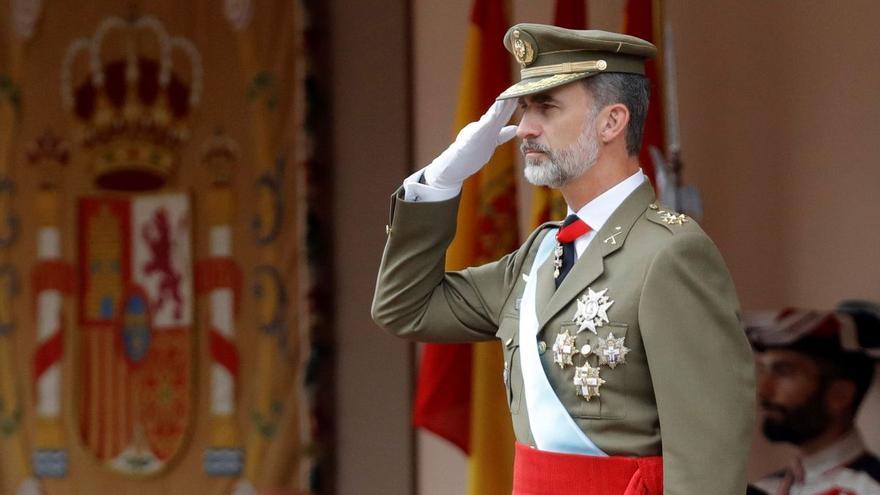 El 12 de octubre recupera el desfile militar y la recepción en Palacio Real