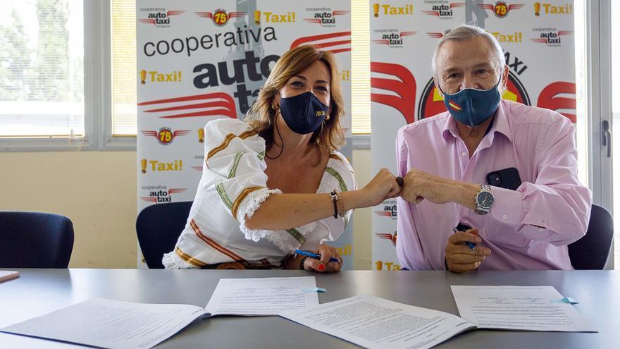 El taxi accesible registra unos 60.000 usos en 2020 a pesar de la pandemia