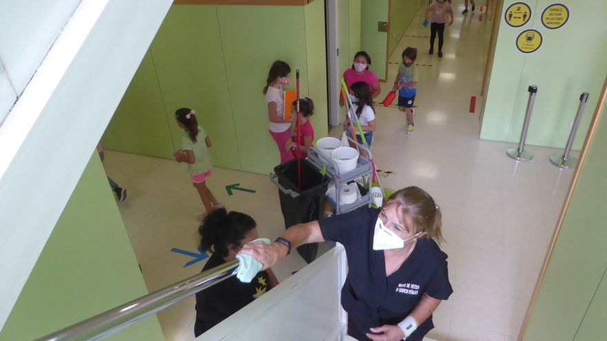 La Nucía refuerza la limpieza en los colegios con 50.000 euros