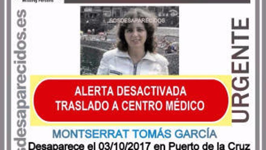 Encuentran a una turista con Alzhéimer que desapareció ayer en Tenerife