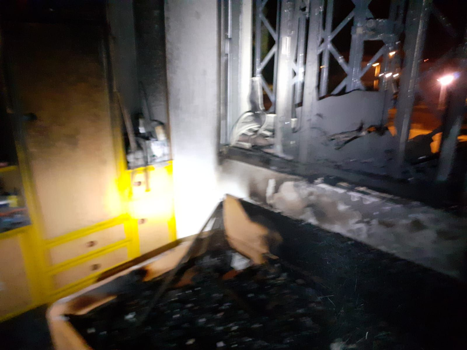 Incendio en una vivienda en Casablanca III