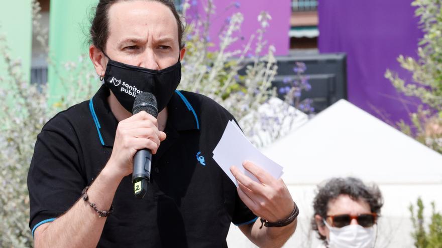 Iglesias arremete contra el PSOE por las trabas a las leyes trans y LGTBI