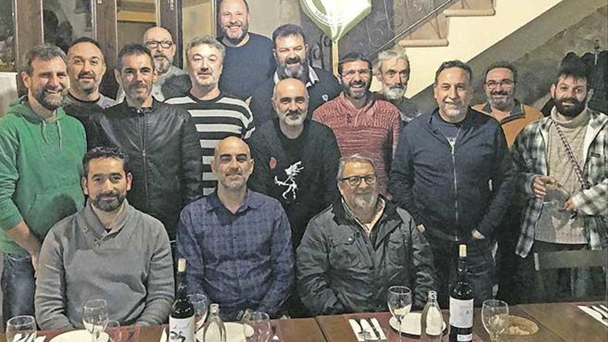 La Confraria dels barbuts de Vilafranca celebra 'Santa Barba'