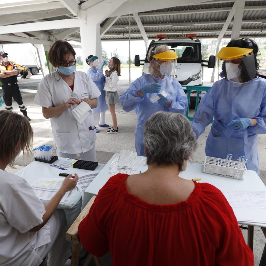 Cribado masivo en Tineo, con pruebas de antígenos, por el incremento de caso de covid