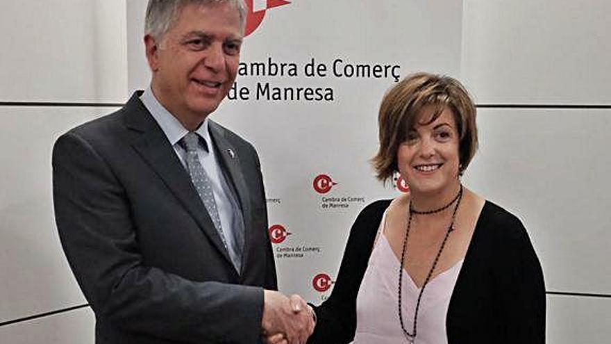 Sílvia Gratacós presidirà la Cambra de Manresa amb més presència de dones