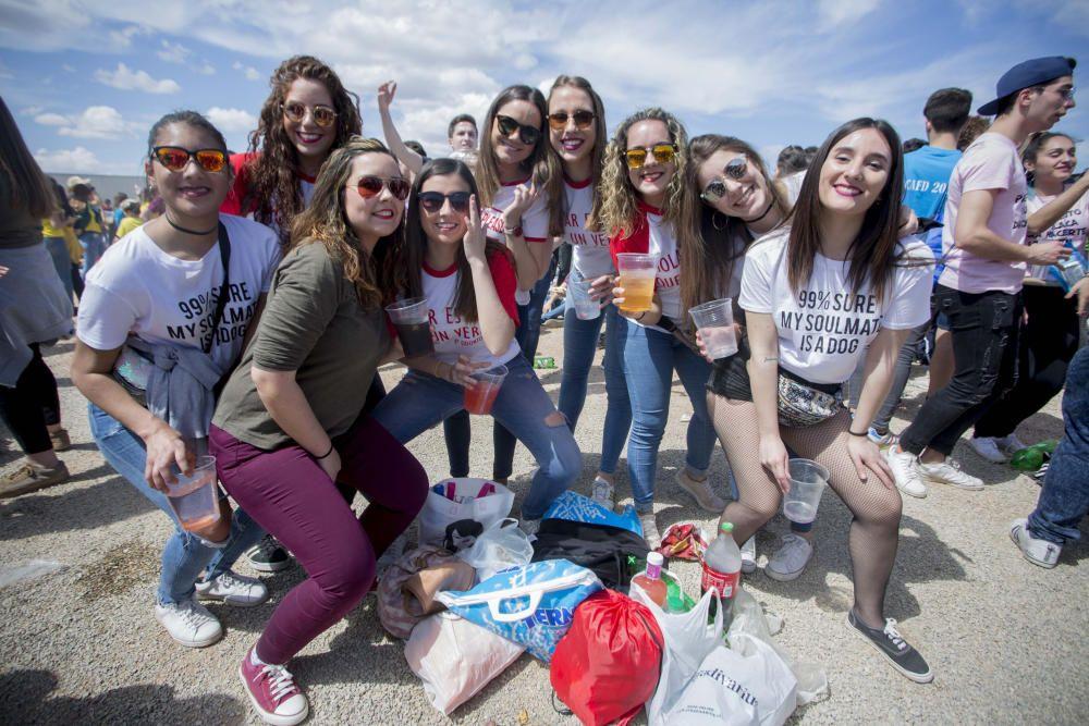 Paellas Universitarias en Moncada 2018