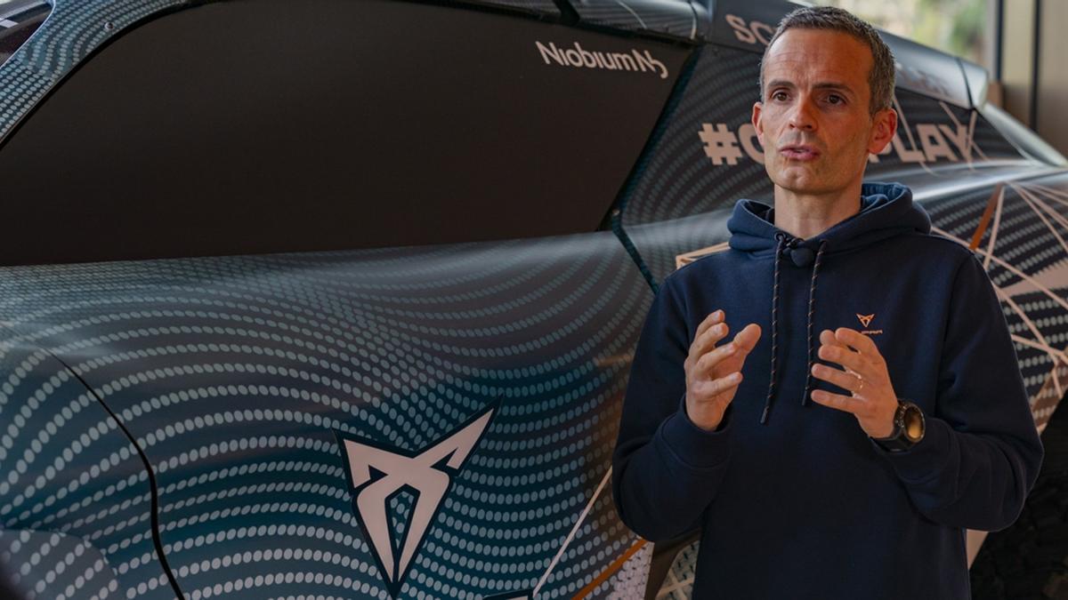 """Xavi Serra (Cupra): """"Queremos estar delante en el cambio a la electrificación"""""""
