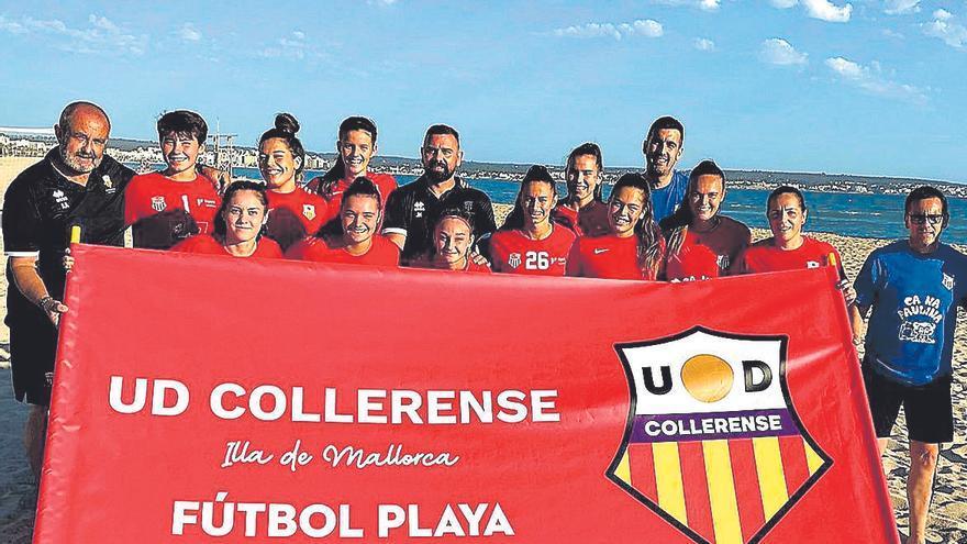 Pilotades | El Collerense debuta en el nacional de fútbol playa
