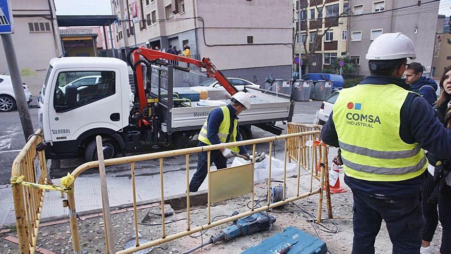 Frenat el pla de l'Ajuntament contra els talls de llum al barri de Font de la Pólvora