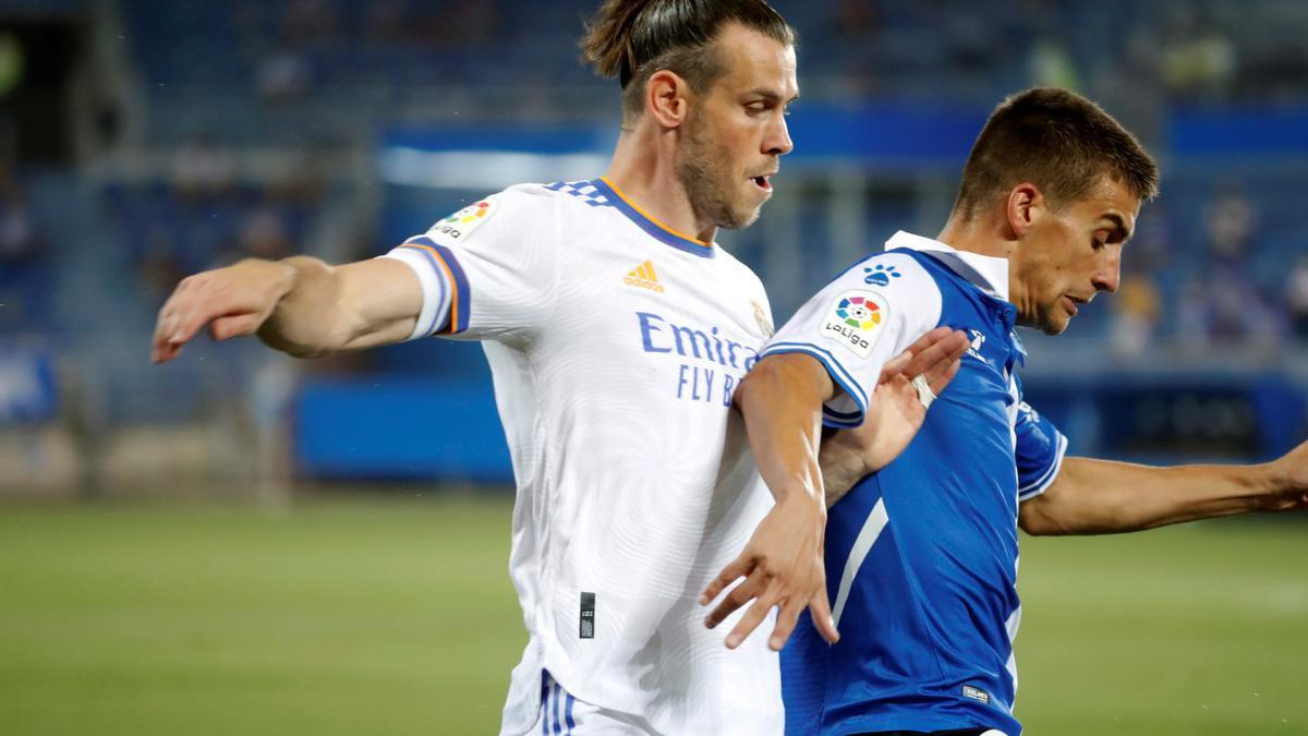 Bale durante un partido de LaLiga.