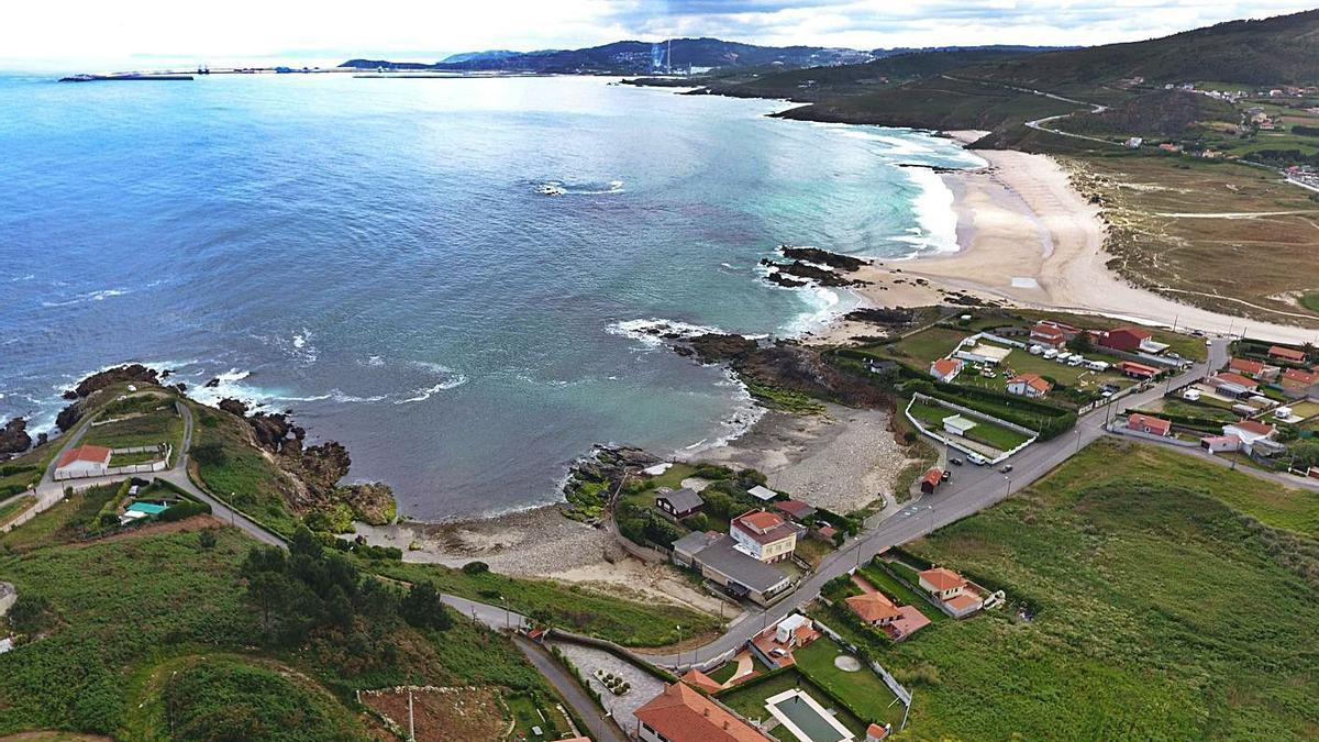 Vista de la zona costera de Barrañán y Chamín. |   // CARLOS PARDELLAS