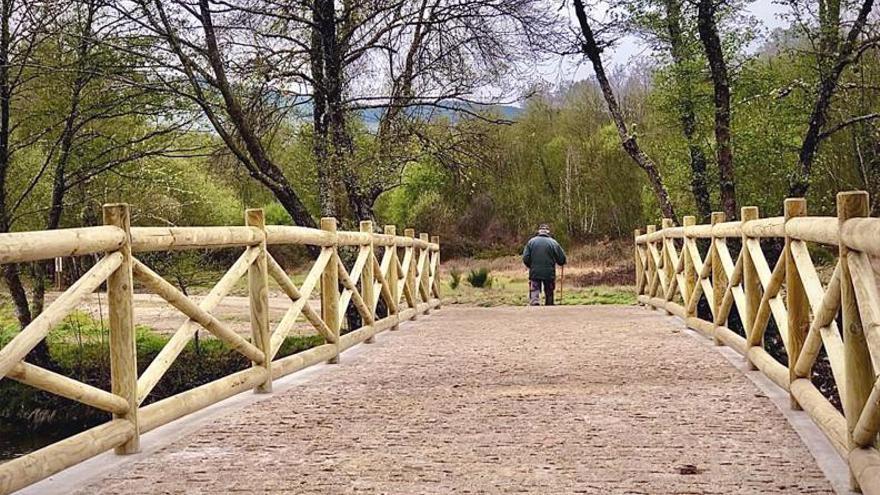 Mejoran la ruta interpretativa de A Veiga de Tintores, Verín