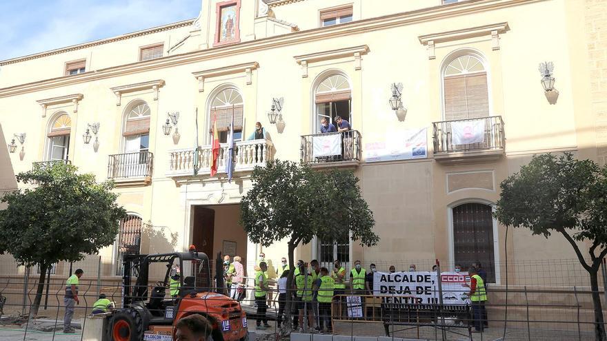 La sección de CCOO en los bomberos de la Diputación se suma a las protestas de la Policía Local de Montilla