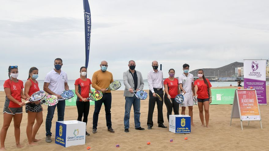 El circuito mundial de tenis playa elige Las Canteras para su único torneo de 2020