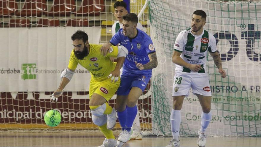 El Córdoba Futsal echa el candado y roza el objetivo