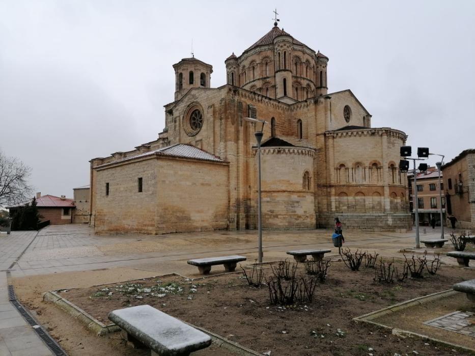 Nieve en la provincia de Zamora.