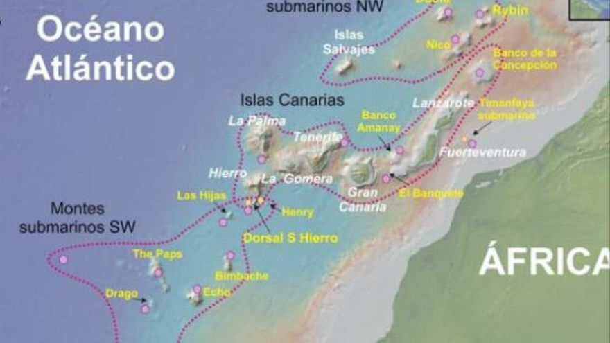 Tropic: un tesoro submarino de metales y corales