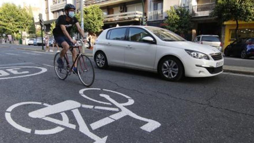La Plataforma Carril Bici demanda al Ayuntamiento de Córdoba medidas de actuación en las 'ciclocalles'