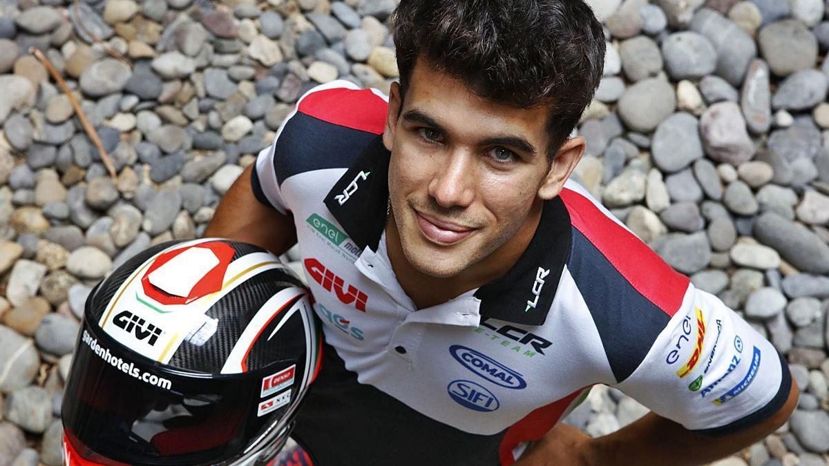 Miquel Pons ist Rennfahrer von Beruf. Den Job in der Baufirma seines Vaters will er aber nicht missen. | FOTO: BENDGENS