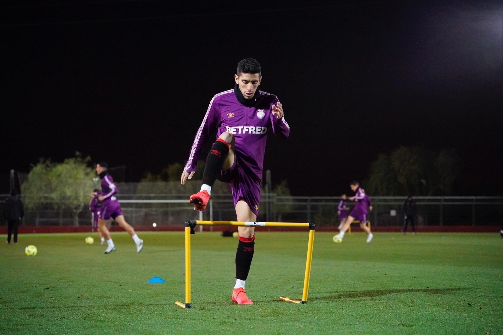 El Mallorca comienza a entrenar tras el parón de las fiestas
