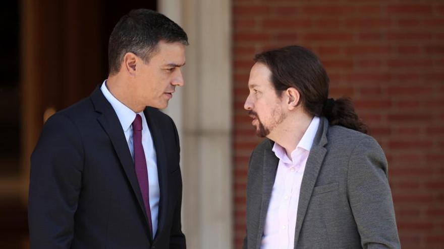 Sánchez i Iglesias tanquen un preacord per formar un govern de coalició