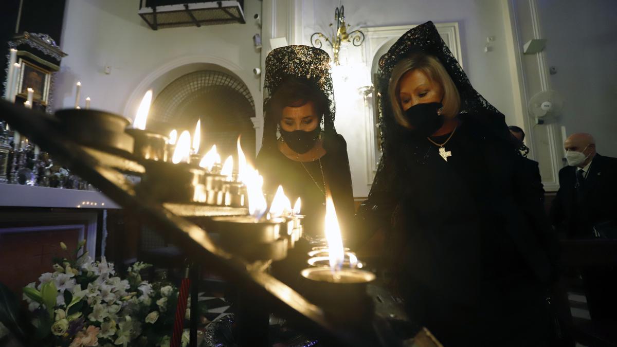 Exposición de los titulares del Sepulcro en la iglesia del Cister