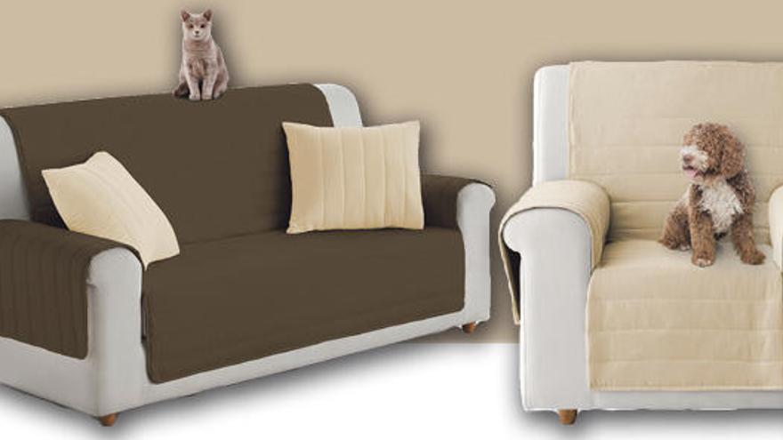 Protegeix el teu sofà amb la funda reversible que t'ofereix Diari de Girona