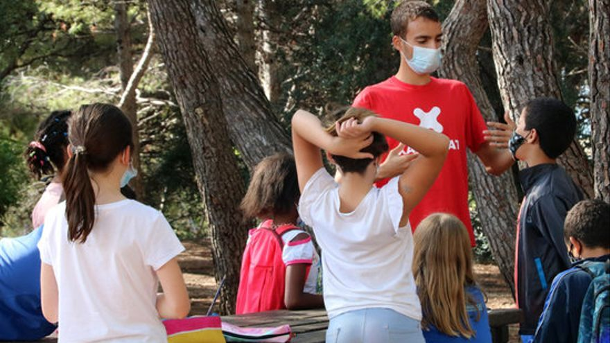 Set de cada deu infants catalans se senten molt feliços amb la seva vida